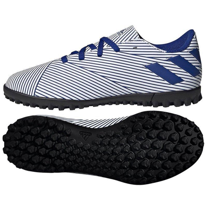 Buty adidas Nemeziz 19.4 TF J FV3313 biały 38