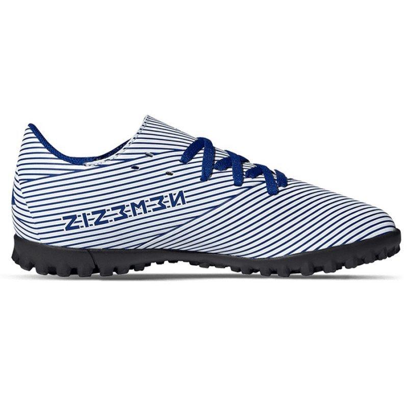 Buty adidas Nemeziz 19.4 TF J FV3313 biały 38 2/3
