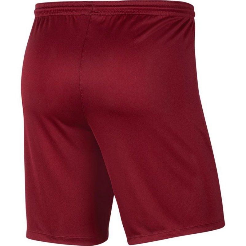Spodenki Nike Y Park III Boys BV6865 677 czerwony XS (122-128cm)