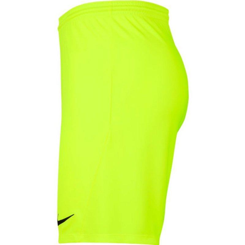 Spodenki Nike Y Park III Boys BV6865 702 żółty L (147-158cm)