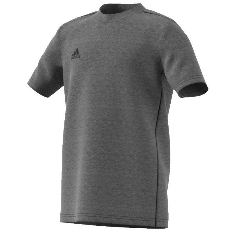 Koszulka adidas Core 18 Tee Y FS3250 szary 116 cm