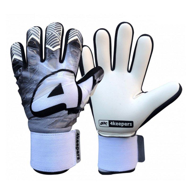 Rękawice 4keepers Evo Gris NC biały 7