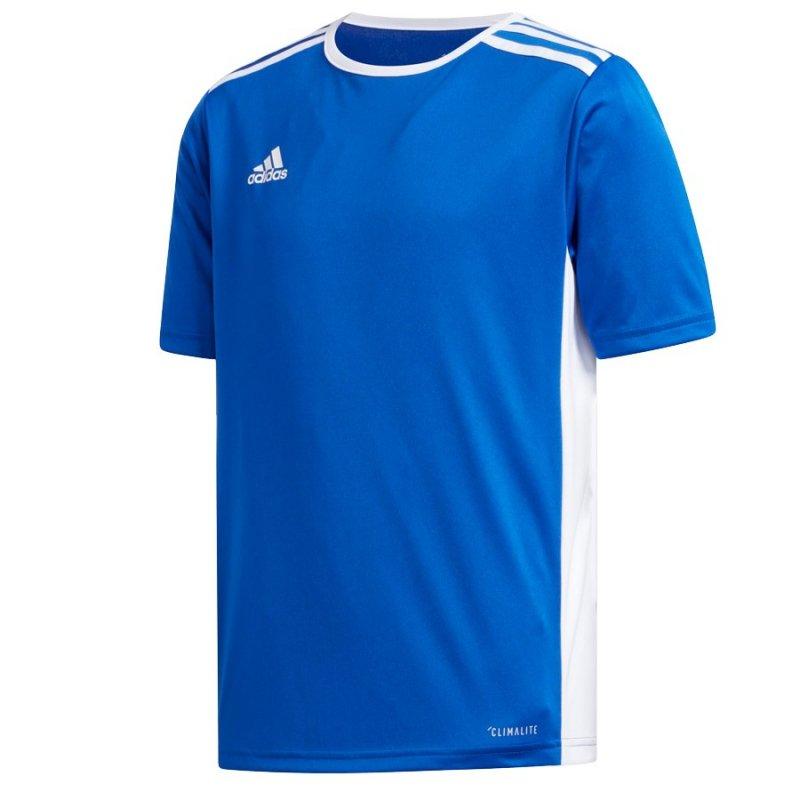 Koszulka adidas Entrada 18 JSY Y CF1049 niebieski 140 cm