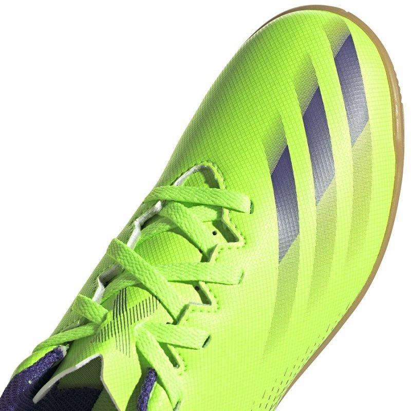 Buty adidas X Ghosted.4 IN J EG8233 zielony 35