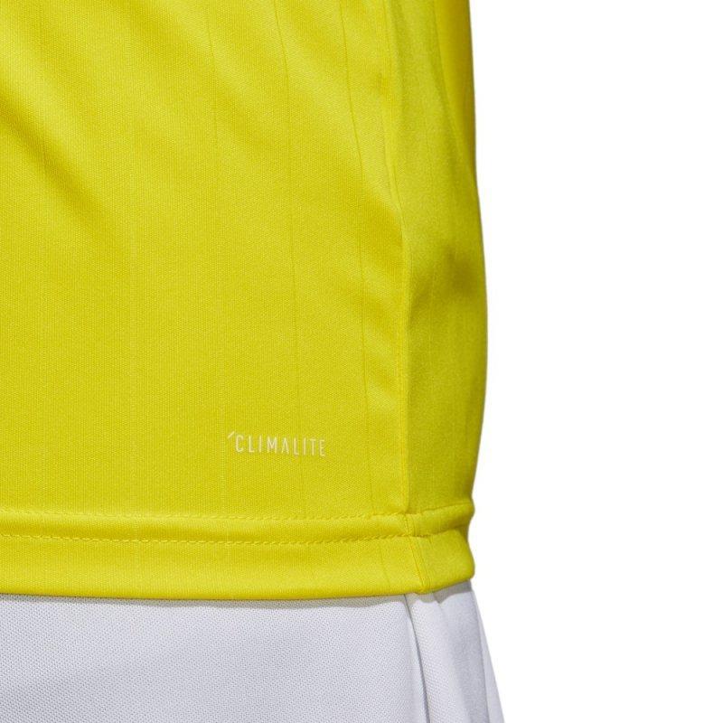 Koszulka adidas Tabela 18 JSY CE8941 żółty 128 cm