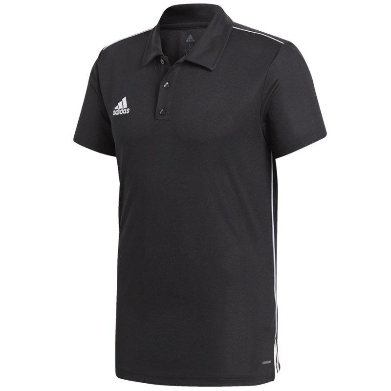 Koszulka adidas Polo Core 18 CE9037 czarny S