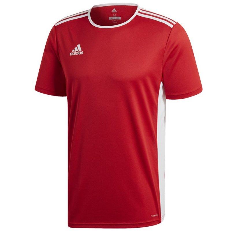 Koszulka adidas Entrada 18 JSY CF1038 czerwony S