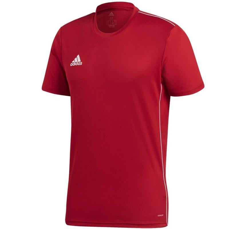 Koszulka adidas Core 18 JSY CV3452 czerwony L