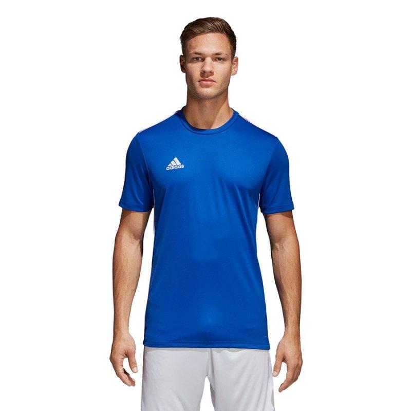 Koszulka adidas Core 18 Tee CV3451 niebieski XXL