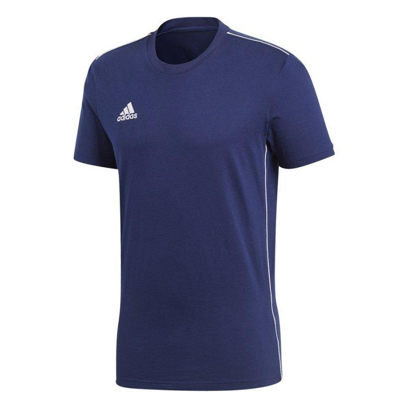 Koszulka adidas Core 18 Tee CV3981 granatowy S