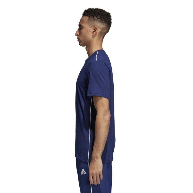 Koszulka adidas Core 18 Tee CV3981 granatowy XL