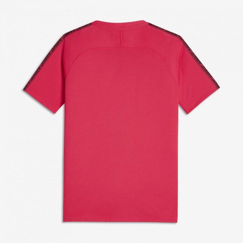 Koszulka Nike B BRT Squad Top SS 859877 653 czerwony M (137-147cm)