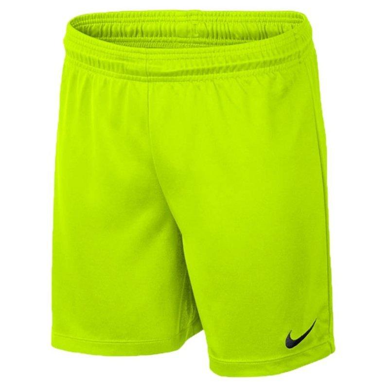 Spodenki Nike Park II Knit Junior 725988 702 żółty L (147-158cm)