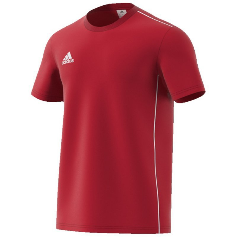 Koszulka adidas Core 18 Tee CV3982 czerwony L