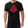 T-Shirt KOSZULKA BAWEŁNIANA DBX BUSHIDO CLASSIC BRAND RED KT12-M