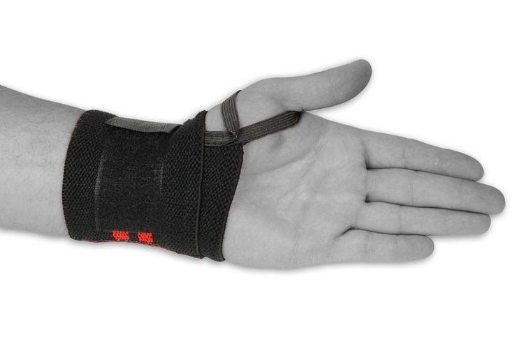 Elastyczne usztywniacze nadgarstków, opaski  DBX BUSIDO  Wrist Wrap