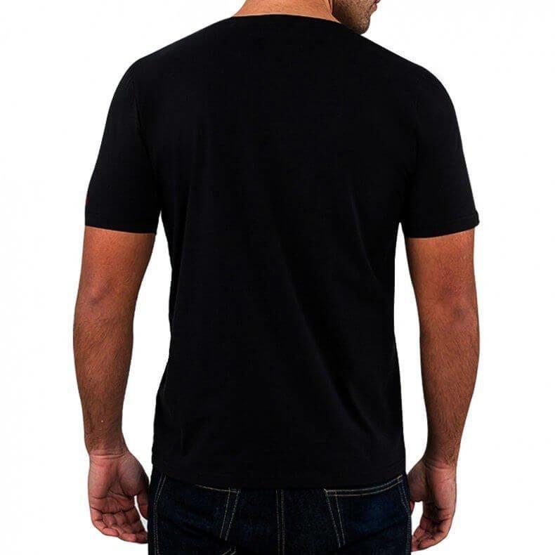 T-Shirt KOSZULKA BAWEŁNIANA DBX BUSHIDO CLASSIC BRAND RED KT12 S