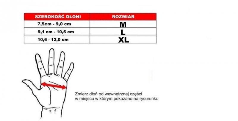 Rękawice Bushido do MMA ze Skóry Naturalnej  - e1v4-M