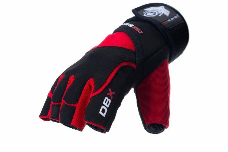 Rękawice na siłownię do ćwiczeń Rękawiczki z Systemem GRIP-X | DBX BUSHIDO - M