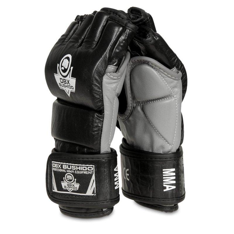 BUDO-E 1 -Skórzane rękawice treningowe do MMA, Krav Magi - M