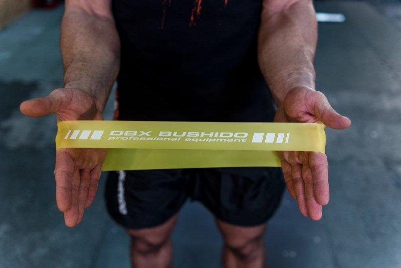 Power Band MINI  - Guma Treningowa  - CZERWONA 15 -22 kg PRO