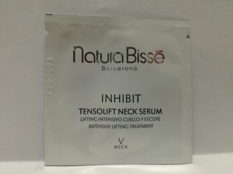 Natura Bisse Inhibit Tensolift Neck Przeciwstarzeniowe serum do szyi i dekoltu 2 ml próbka
