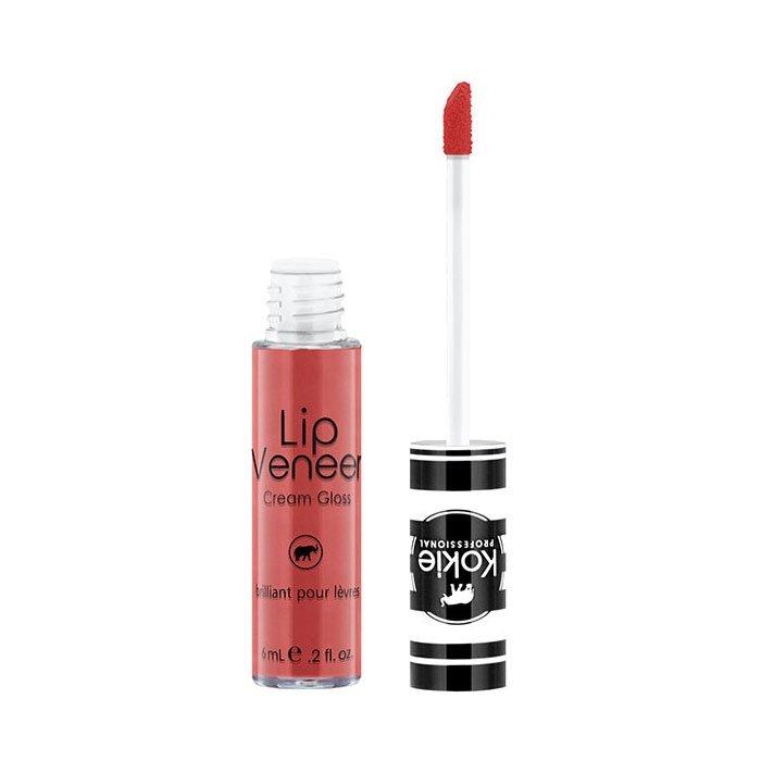 Kokie Cosmetics Lip Veneer Cream Lip Gloss kremowy błyszczyk 6ml  Tease