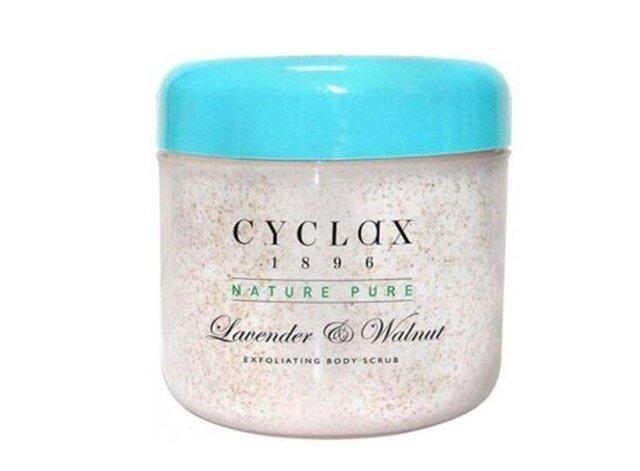 Cyclax Lavender Walnut Exfoliating Body Scrub peeleng do ciała z lawendą i orzechami 300 ml