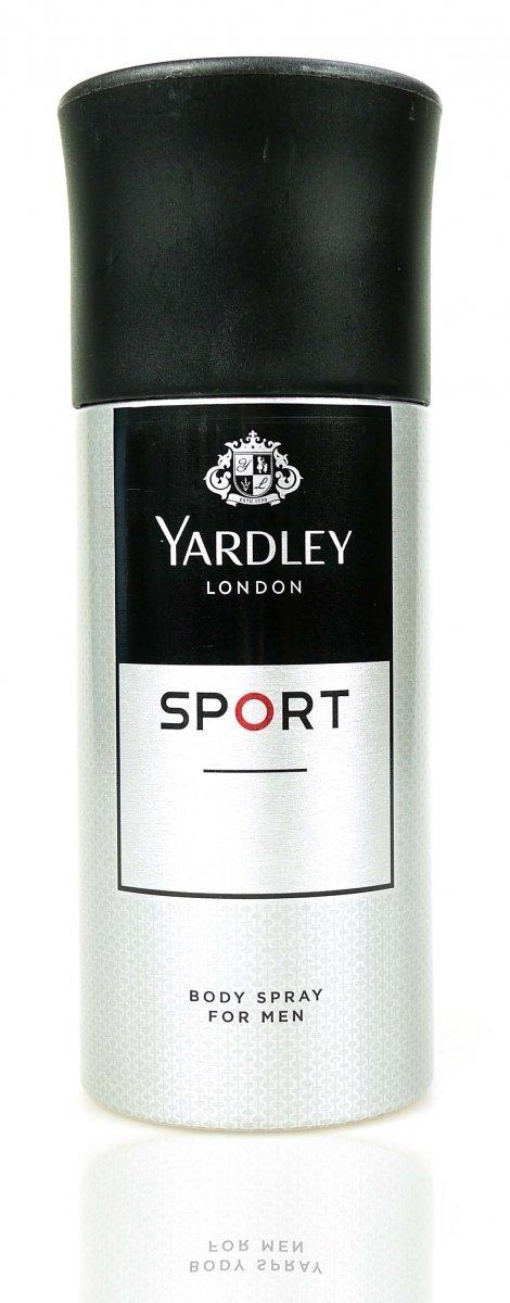 Yardley Sport dezodorant 150 ml spray dla mężczyzn