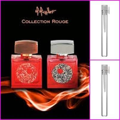 M.MICALLEF Collection Rouge No1 1ml No 2 1 ml