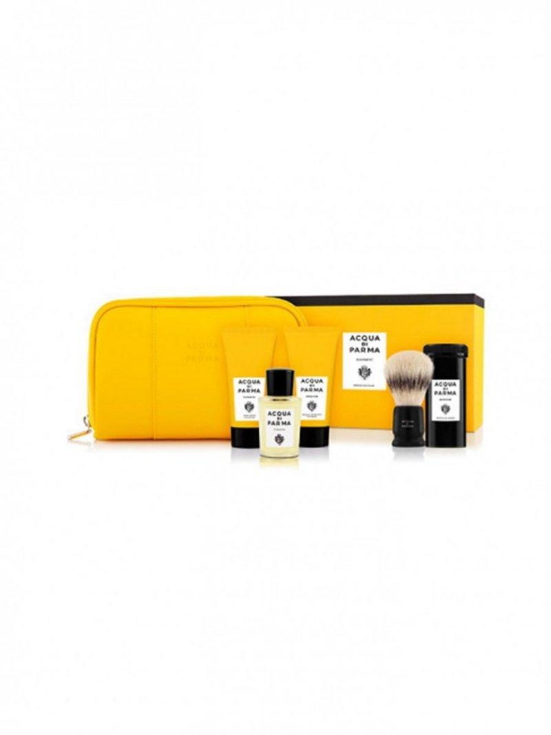 ACQUA DI PARMA Collezione Barbiere Prestige Shaving Kit zestaw 20ml & 2x40ml