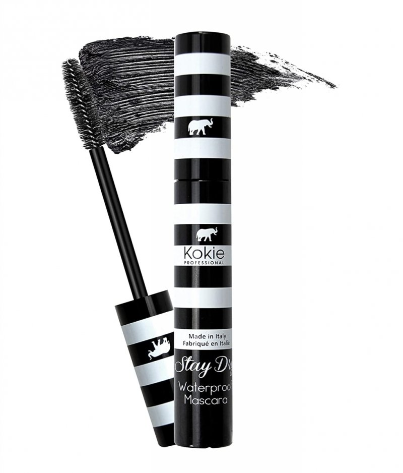 Kokie Cosmetics Stay Dry Waterproof Mascara wodoodporny tusz do rzęs 9 ml