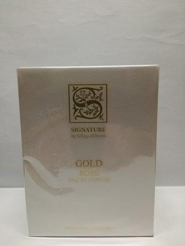 Signature Sillage D'Orient Gold Rose woda perfumowana 100 ml + 15 ml gift set