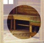 Ławki do altan drewnianych