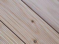 Sztacheta drewniana  ryflowana