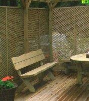 Kratka drewniana Angielska 150 x 180