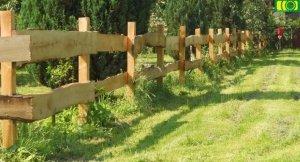 Ogrodzenie z deski rancho 1 przęsło 240 cm