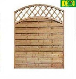 L07 płot drewniany-lamelowy (120x180)