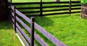 Ogrodzenie z deski rancho 1 przęsło 240 cm - 4 deski