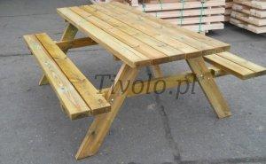 stół drewniany do ogrodu (dl.200 cm)