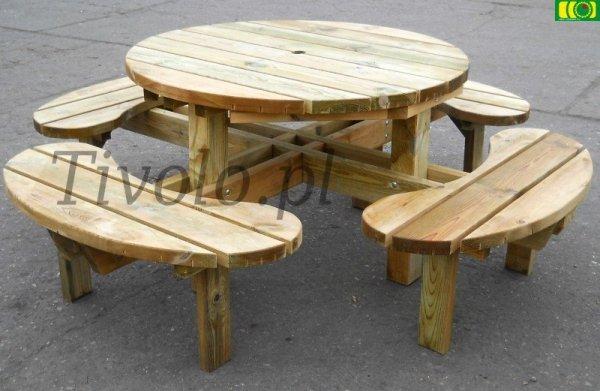 stół drewniany do ogrodu: FRANCJA