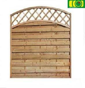 L06 płot drewniany-lamelowy (150x180)