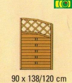 ZL2 zakończenie do płotu z podwójnym łukiem (90x160/90)