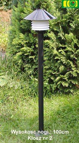 Lampa ogrodowa 115cm z kloszem
