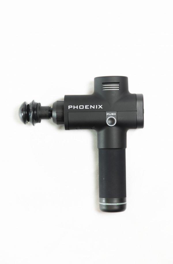 Pistolet Sportowca Phoenix Pro - masażer wibracyjny (wersja w kolorze czarnym matowym)