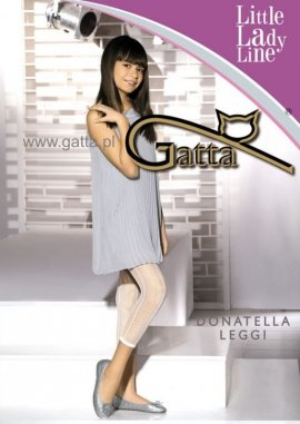 DONATELLA LEGGI - Leggingsy dziewczęce