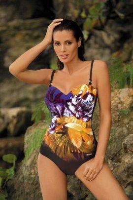 Kostium kąpielowy Caitlyn Nero-Bright Violet M-370 (3)