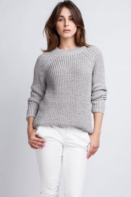 Sweter Kriss SWE 076 szary