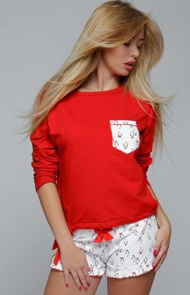 Piżama Red Penguin