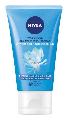 Nivea Żel do mycia twarzy do cery normalnej i mieszanej  150ml
